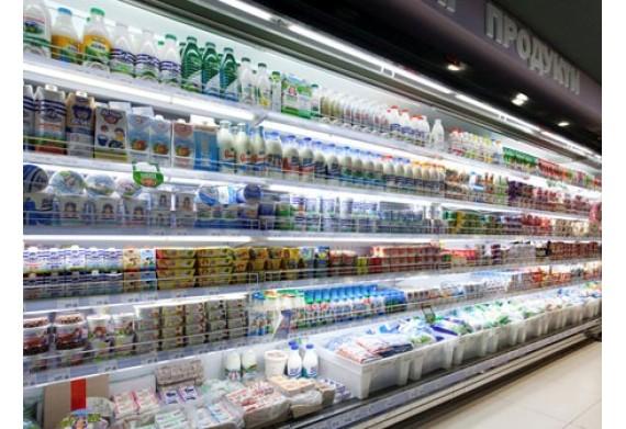 Світлодіодне освітлення в торговому холодильному обладнанні